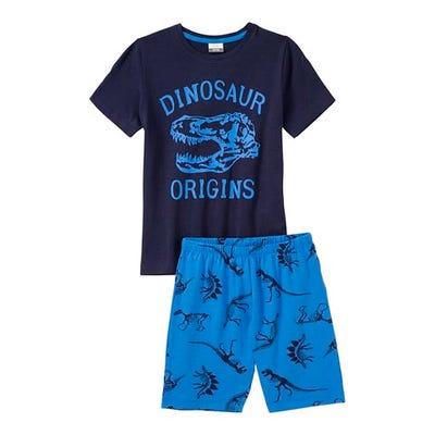 Jungen-Shorty mit Dino-Frontaufdruck, 2-teilig