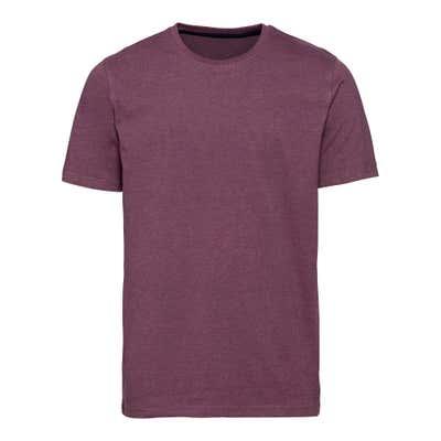 Herren-T-Shirt in Melange-Optik