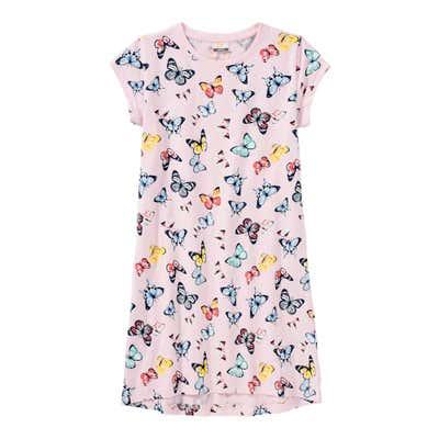 Mädchen-Nachthemd mit Schmetterlings-Muster