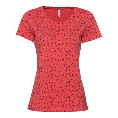 Damen-T-Shirt mit maritimem Muster