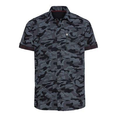 Herren-Hemd in Camouflage-Optik