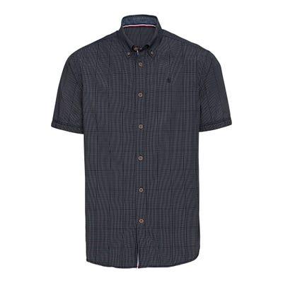 Herren-Hemd mit Kontrast-Knöpfen