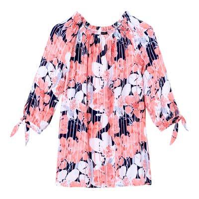 Damen-Bluse mit traumhaften Blüten