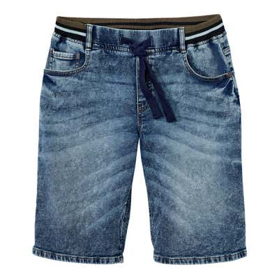 Herren-Bermudas in angesagter Jeans-Optik
