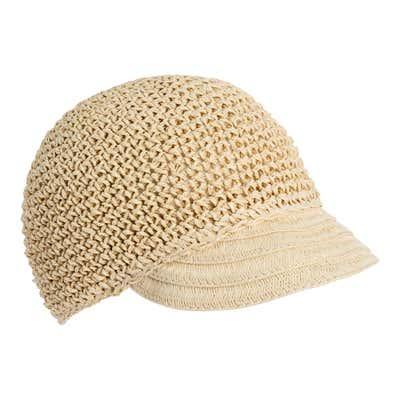 Damen-Hut aus Papierstroh