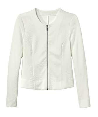 Damen-Jacke mit Struktur-Muster