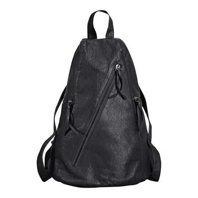 Damen-Rucksack in Leder-Optik, ca. 27x38x20cm