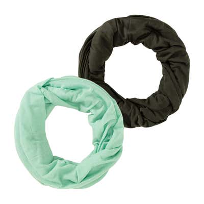 Damen-Loop-Schal, 2er Pack