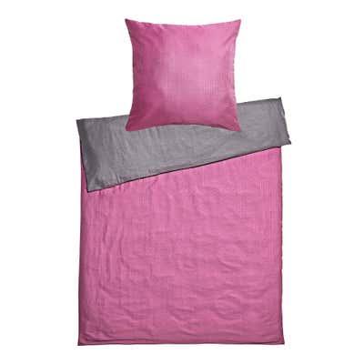 Seersucker-Bettwäsche in unterschiedlichen Farben