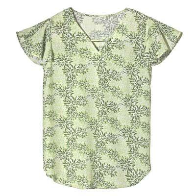 Damen-Bluse mit floralem Muster