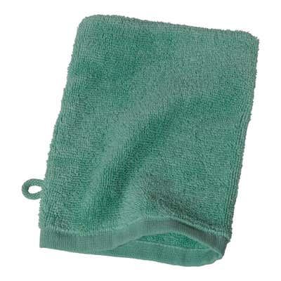 Waschhandschuh aus reiner Baumwolle, ca. 16x21cm