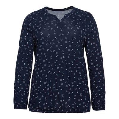 Damen-Shirt mit Pusteblumen-Muster, große Größen
