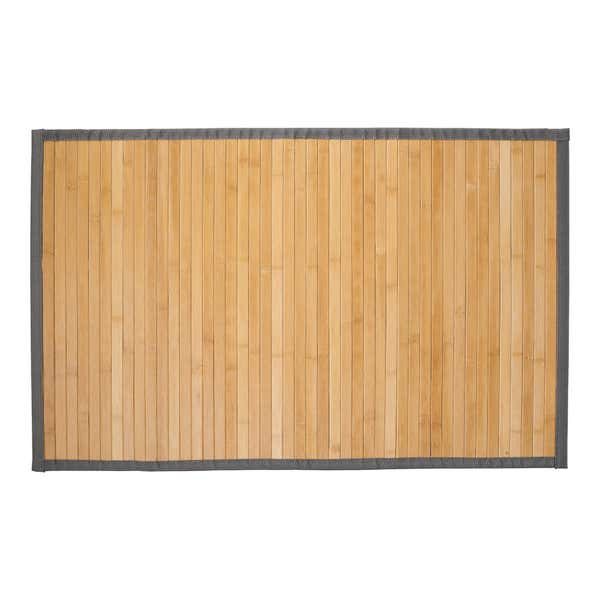 Teppich aus Bambus, ca. 50x80cm