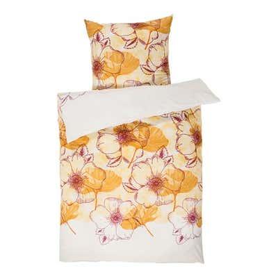 Mikrofaser-Bettwäsche mit Blumen-Design