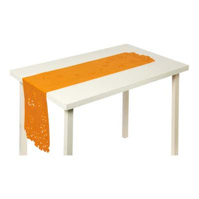 Filz-Tischläufer mit tollem Frühlings-Motiv, ca. 25x130cm