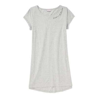 Damen-Nachthemd in Melange-Optik
