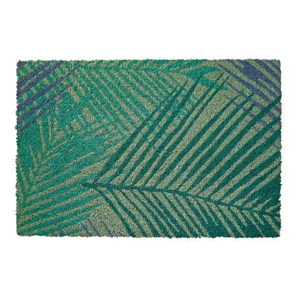 Türmatte aus sommerlichem Kokos, ca. 40x60x1,5cm