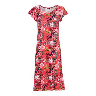 Damen-Kleid mit hübschen Rüschen