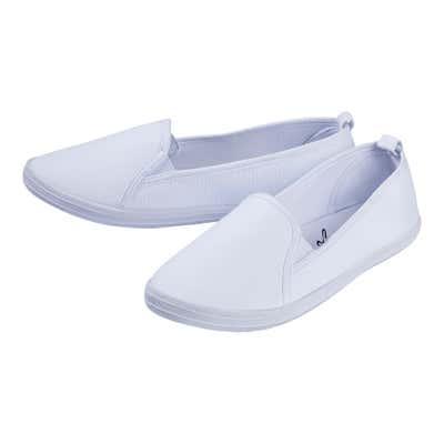 Damen-Slipper mit elastischen Einsätzen