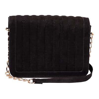 Damen-Handtasche mit edlen Ziernähten