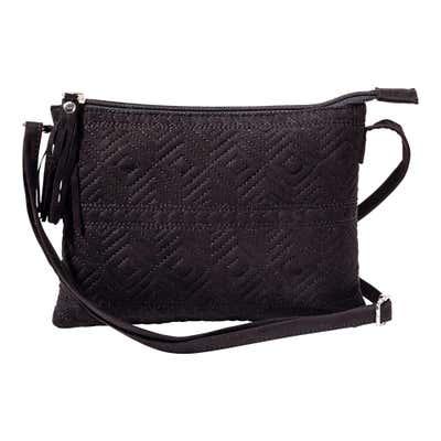 Damen-Handtasche mit Stickerei