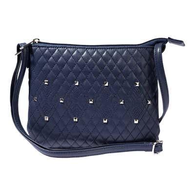Damen-Handtasche mit Stepp-Muster