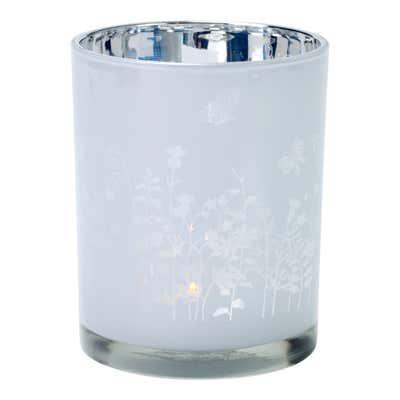 Teelichthalter mit Motiv, ca. 10x12cm