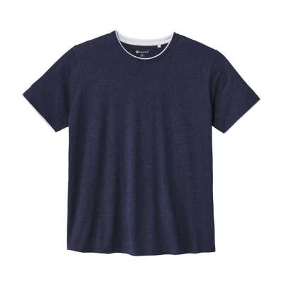 Herren-T-Shirt im 2-Lagen-Look, große Größen