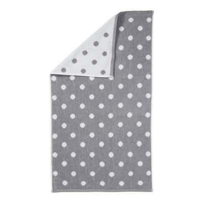 Handtuch mit Jacquard-Punkten, 50x90cm