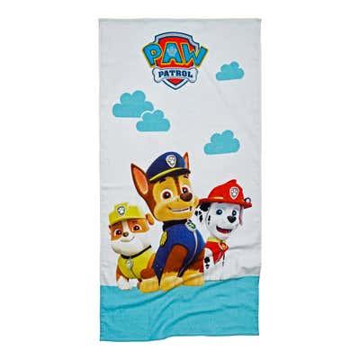 Paw Patrol Strandtuch aus reiner Baumwolle, ca. 70x140cm