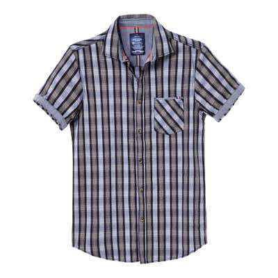 Herren-Hemd mit klassischem Karomuster