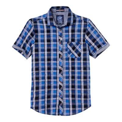 Herren-Hemd mit angesagtem Karomuster