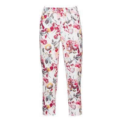 Damen-Jeggings mit Blumenmuster