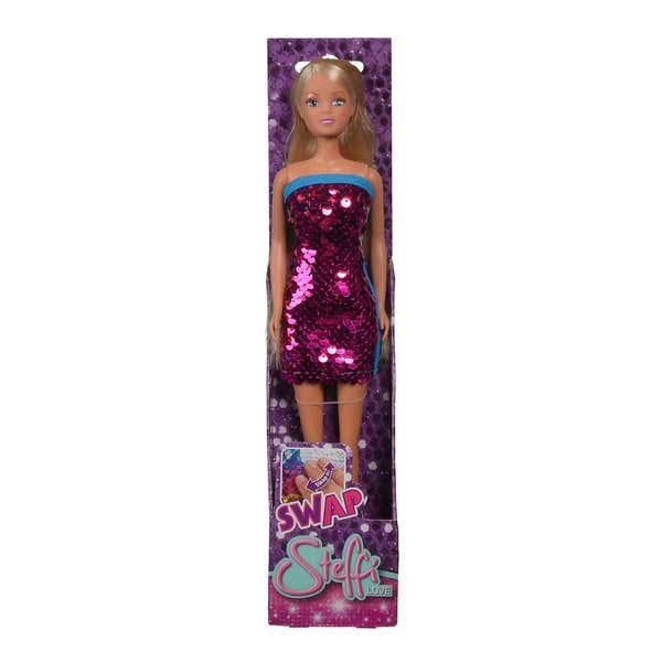 Steffi Love Puppe im Pailletten-Kleid, ca. 29cm