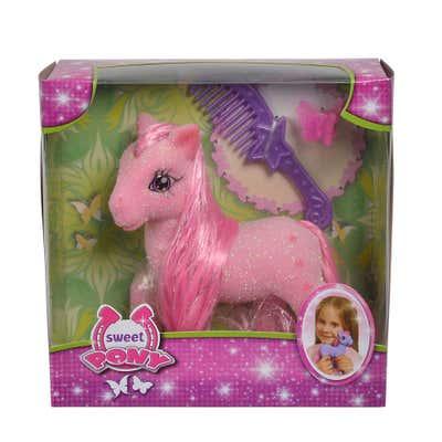 Simba Sweet Pony mit Accessoires, ca. 14cm