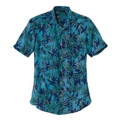 Herren-Hemd mit tollem Urlaubsfeeling