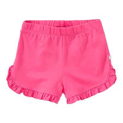 Baby-Mädchen-Shorts mit Rüschen