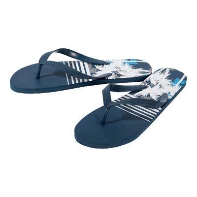 Herren-Flip-Flops mit bedruckter Sohle