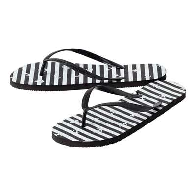 Flip-Flops mit gemusterter Sohle