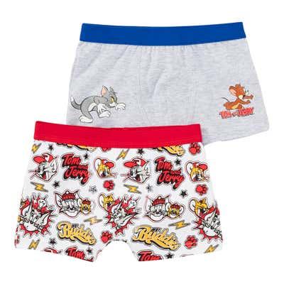 Tom und Jerry Jungen-Retroshorts, 2er Pack