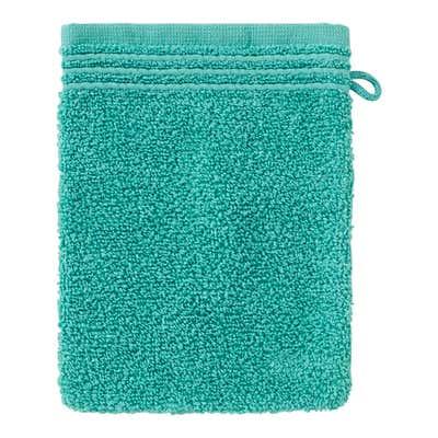 Waschhandschuh aus weichem Frottier, 16x21cm