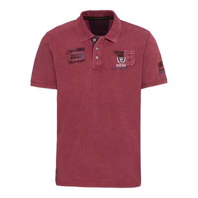 Herren-Poloshirt mit modischer Stickerei