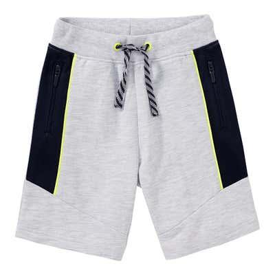 Jungen-Bermudas mit Reißverschluss-Taschen