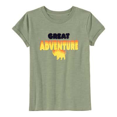 Jungen-T-Shirt mit appliziertem Schriftzug