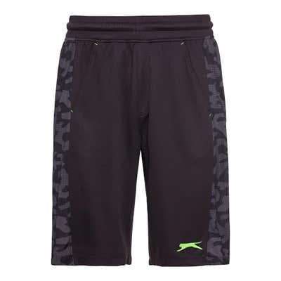 Slazenger Herren-Fitness-Bermudas mit Camouflage-Muster