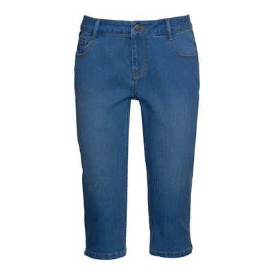 Damen-Bermudas im Jeans-Look