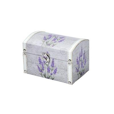 Deko-Box in tollem Lavendel-Design