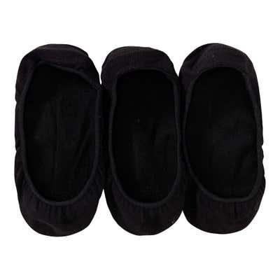 Damen-Füßlinge, 3er Pack