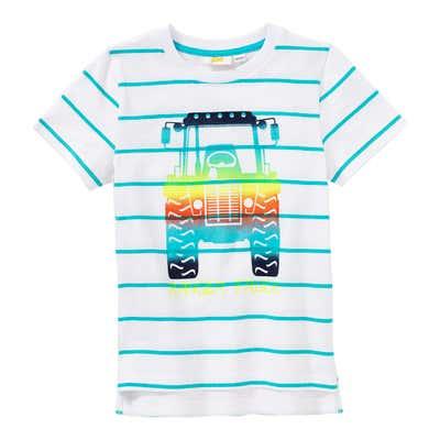 Jungen-T-Shirt mit Traktor-Frontaufdruck