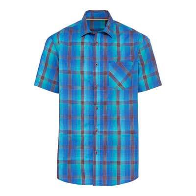 Herren-Hemd mit Karomuster